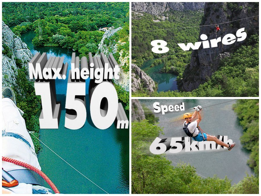 Zip Line Omis - Travel Croatia like a local