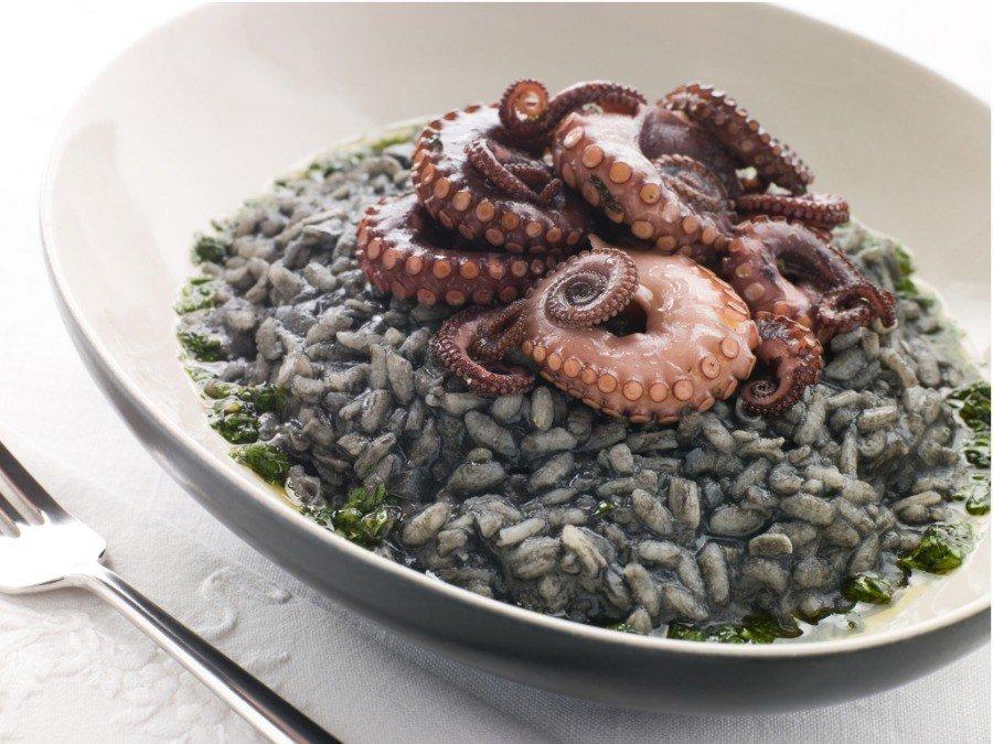 Croatian Cooking: Crni Rizot