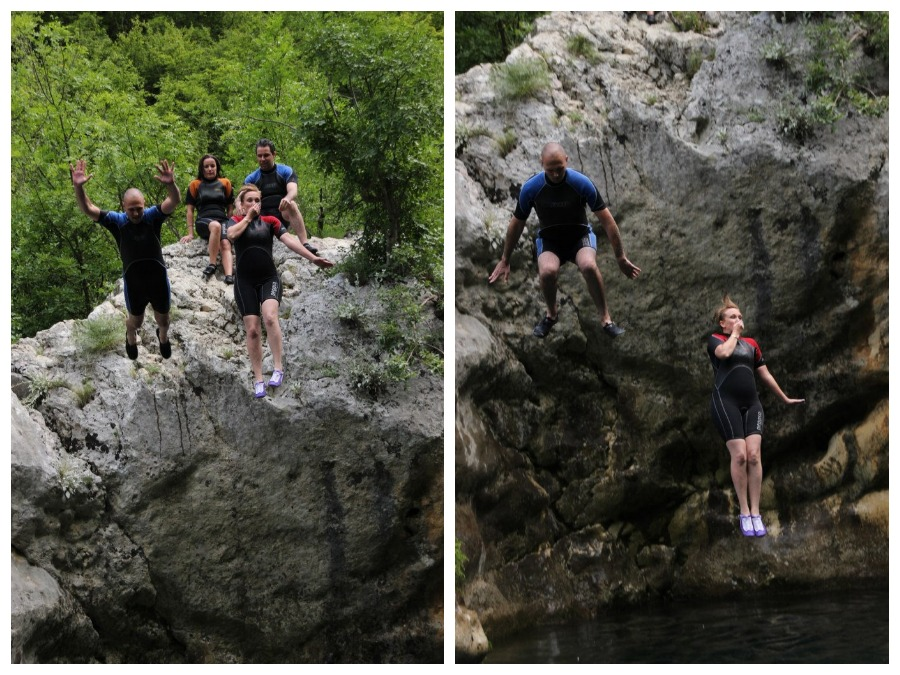 Cetina River - Couples Rock jumping - Travel Croatia like a local