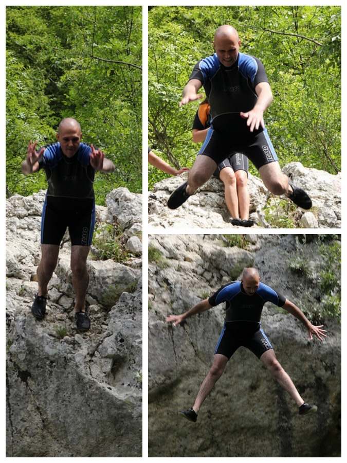 Cetina River - More Rock jumping - Chasing the Donkey