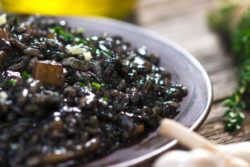 How To Make Croatian Crni Rizot - Black Risotto