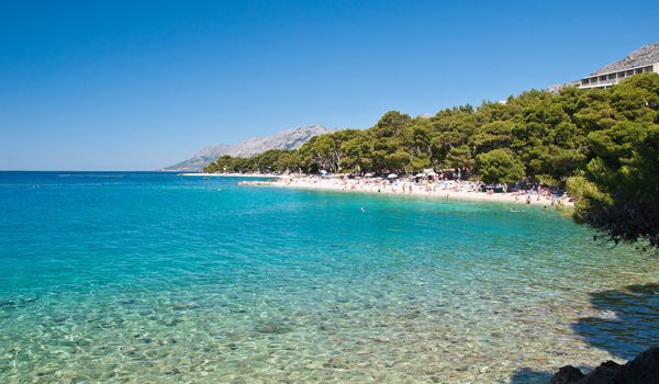 Bluseun Hotels | Berulia Brela Beach | Croatia Travel Blog