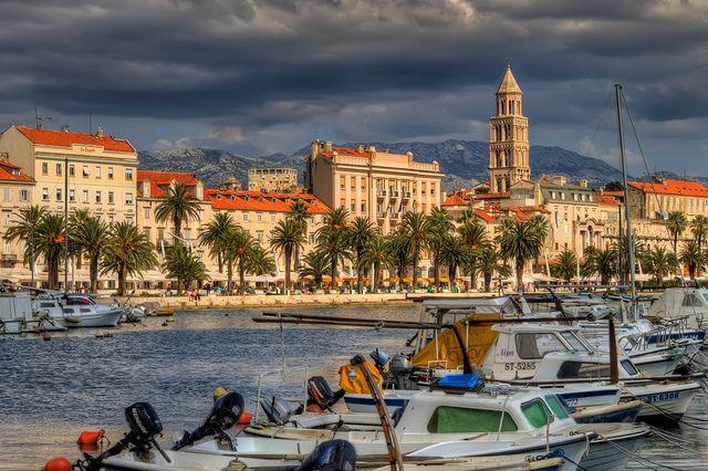 Solo Travel in Split landscape - Travel Croatia like a local