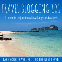 Travel Blogging 101 course