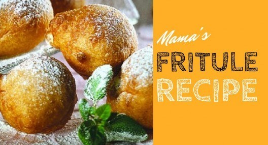 Croatian Cooking: Mama's fritule recipe