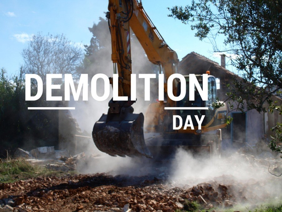 Dream House - Demolition day COVER