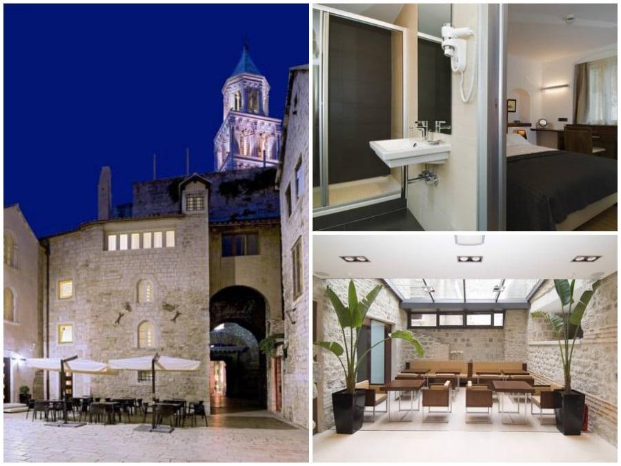 Hotels in Split Hotel Vestibul Palace