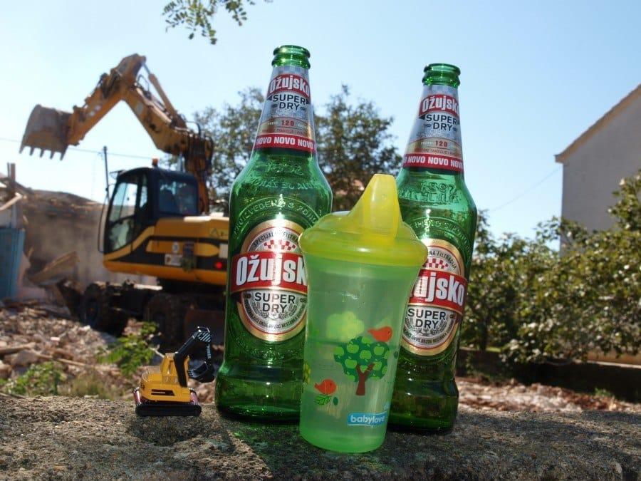Croatian Beer - Demolition day