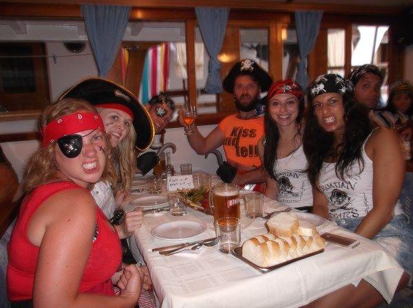 Sailing Croatia Busabout party - Travel Croatia like a local