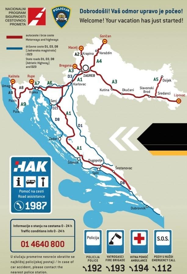 Croatia Travel Guide: Croatia Car Rental assistance