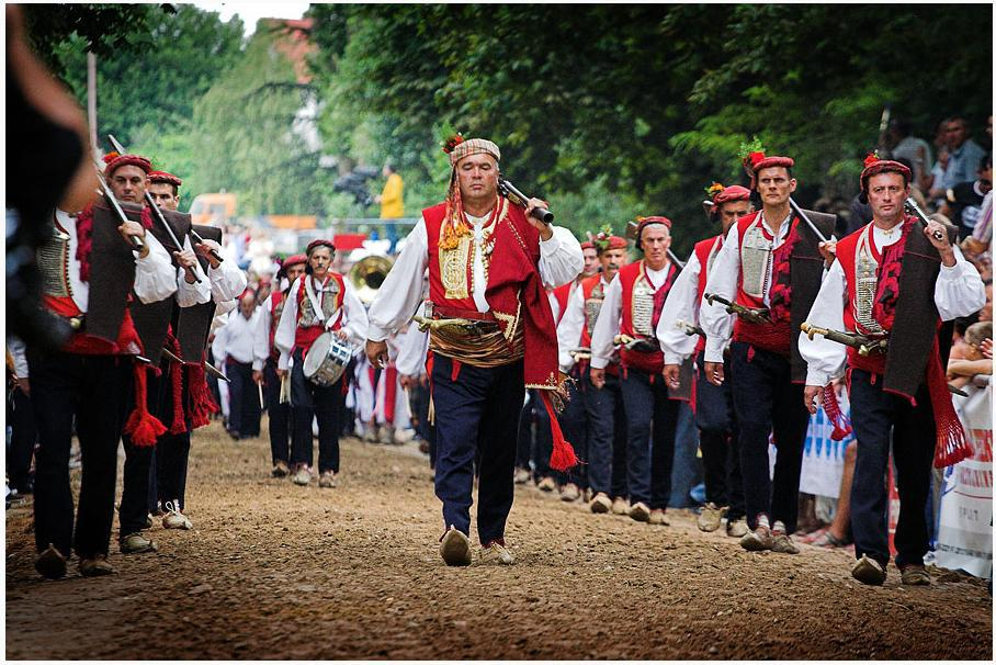 Sinjska Alka Marching the Alka Ilija Veselica