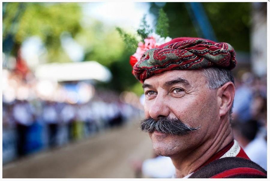 The men of the Sinjska Alka Ilija Veselica
