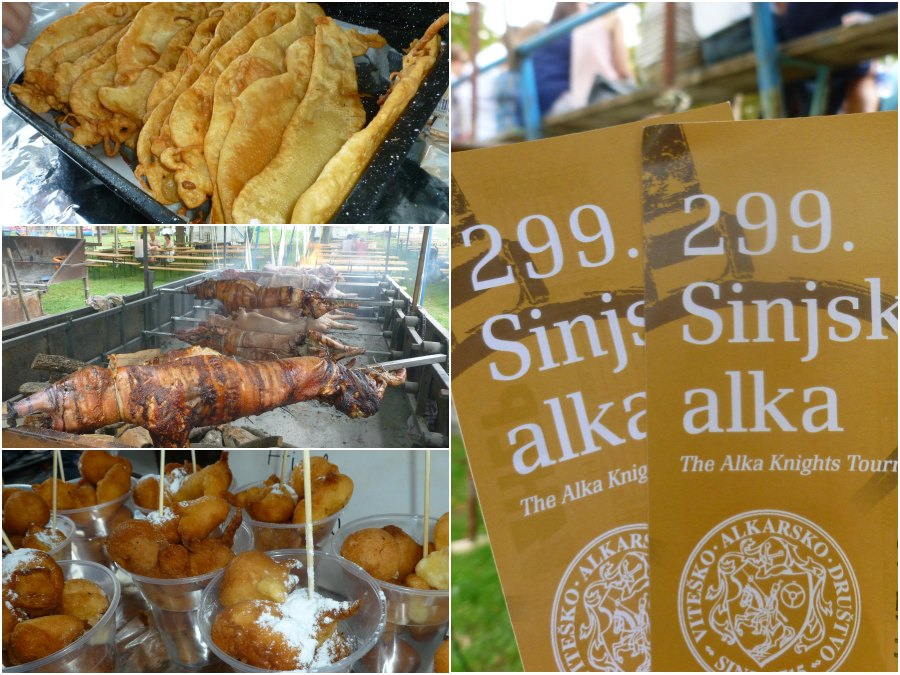 Travel Croatia Sinjska Alka in the town of Sinj 2