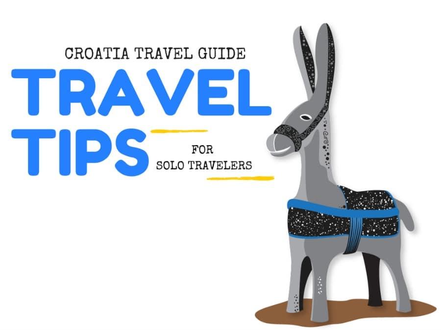 Travel Croatia - Solo travel COVER