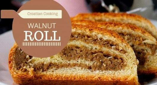 Croatian Cooking: Orahnjača – walnut roll recipe