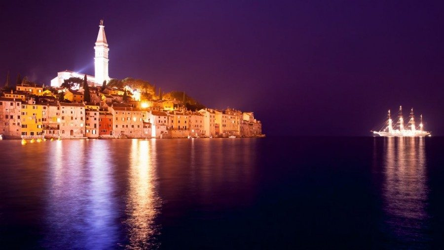 Night Time   Things to do in Rovinj   Croatia Travel Blog