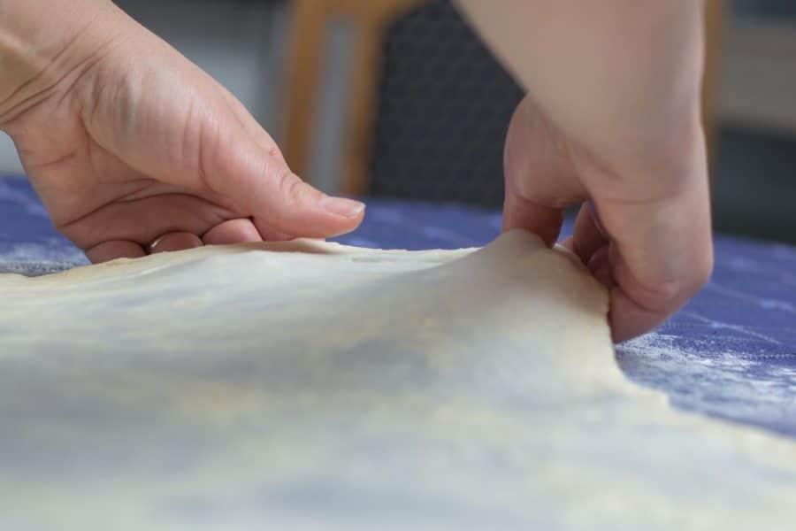 How to Make Croatian Burek Dough Recipe - Croatian Recipe