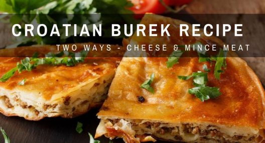 Balkan Food: Easiest Croatian Burek Recipe