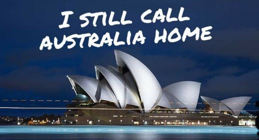 I still call Australia home
