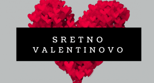 Valentines Day Cards in Croatian {čestitka za Valentinovo}
