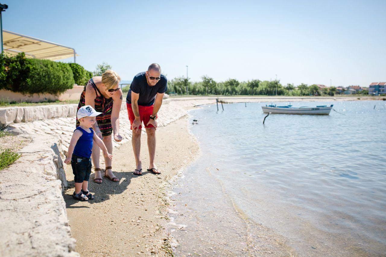 Three of us - Milina - Travel Croatia Beach