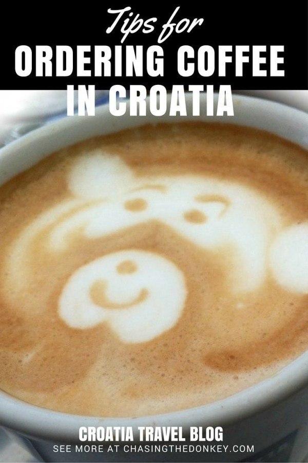 Things to do in Croatia_Ordering Coffee Croatia Travel Blog