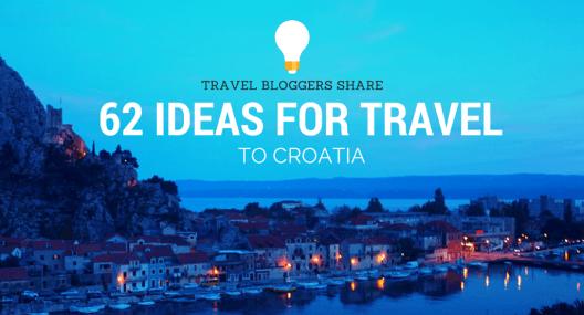 Croatia Travel Blog: 62 Inspirational Stories For Travel to Croatia