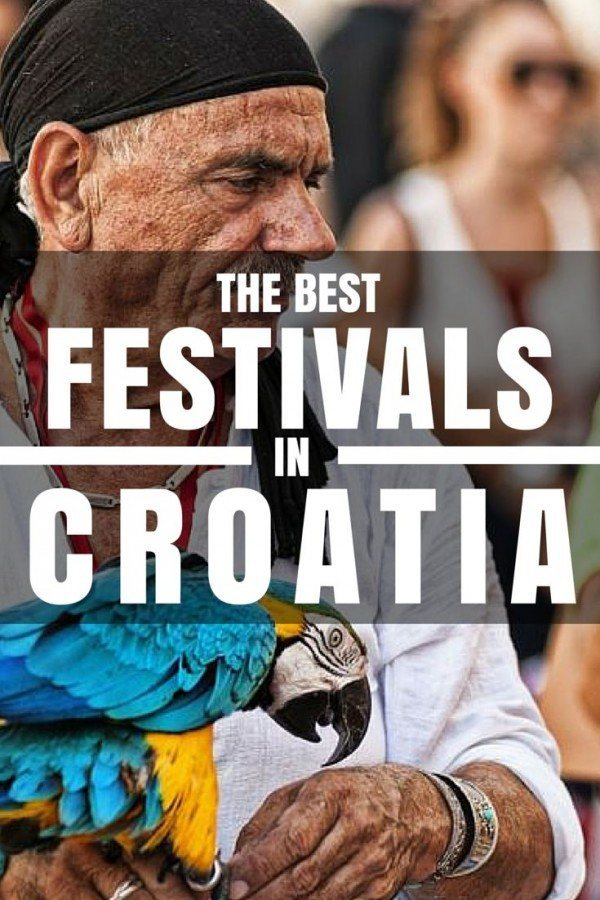 The best festivals in Croatia PIN 1