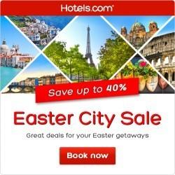 Hotels.com Easter Sale