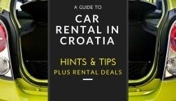 2017 Car Rental Croatia & Driving in Croatia Tips
