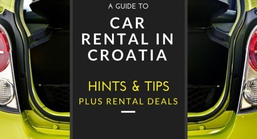 2018 Car Rental Croatia & Driving in Croatia Tips