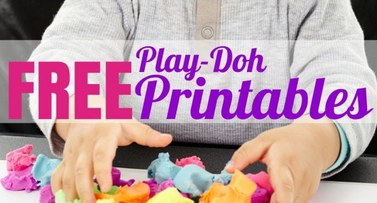 Flying With Children: FREE Play-Doh Printables to Keep Little Hands Busy