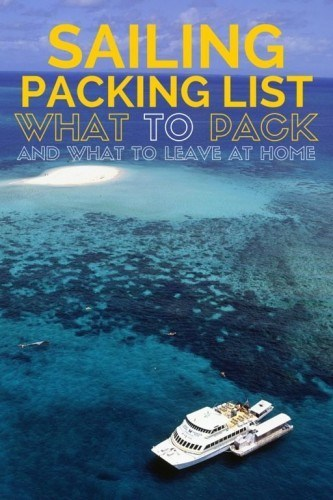 Sailing Holiday Packing List Guide