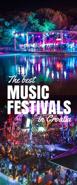 Want to know what are the best music festivals in Croatia? Here, let us help you decide with this Croatian music festival guide.