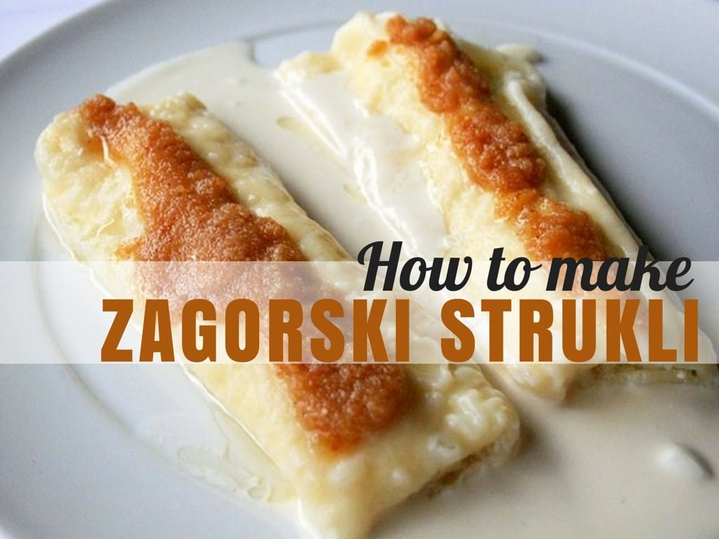 How to make Zagorski Štrukli Recipe CIVER