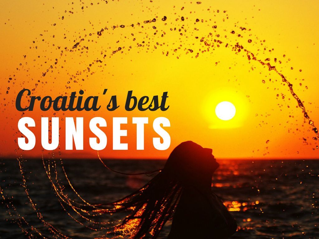 Photos of Sunsets In Croatia COVER