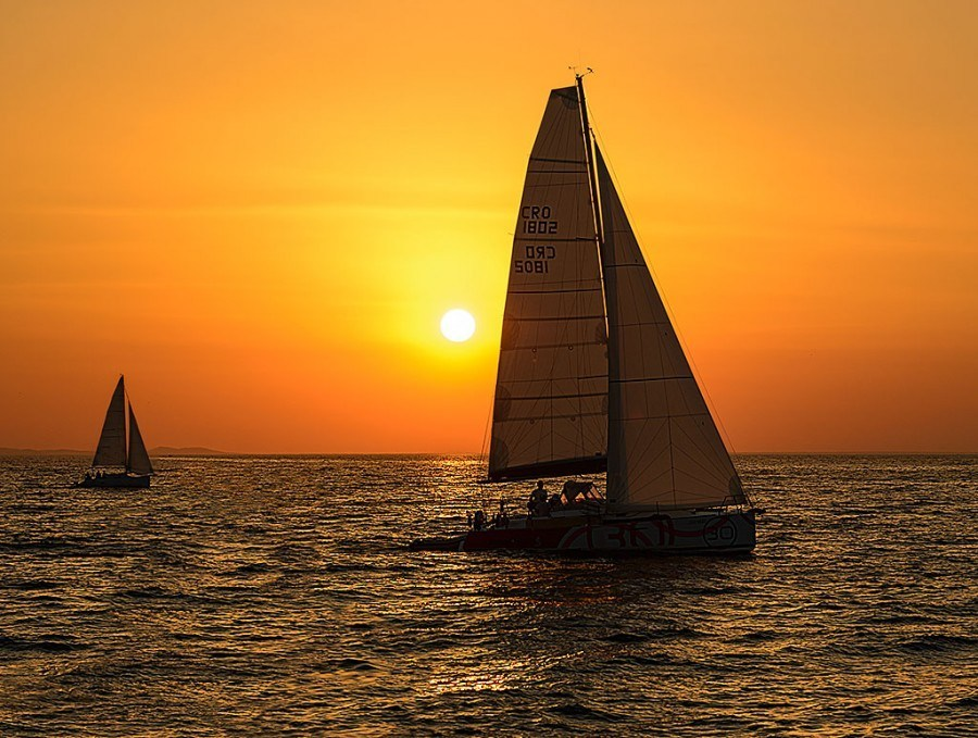Zadar Sailing Sunset | Travel Croatia