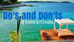 Dos and Dont of Travel to Croatia