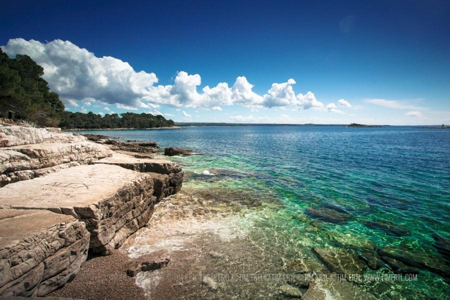 Golden Cape Beach, Rovinj | Croatia Travel Blog