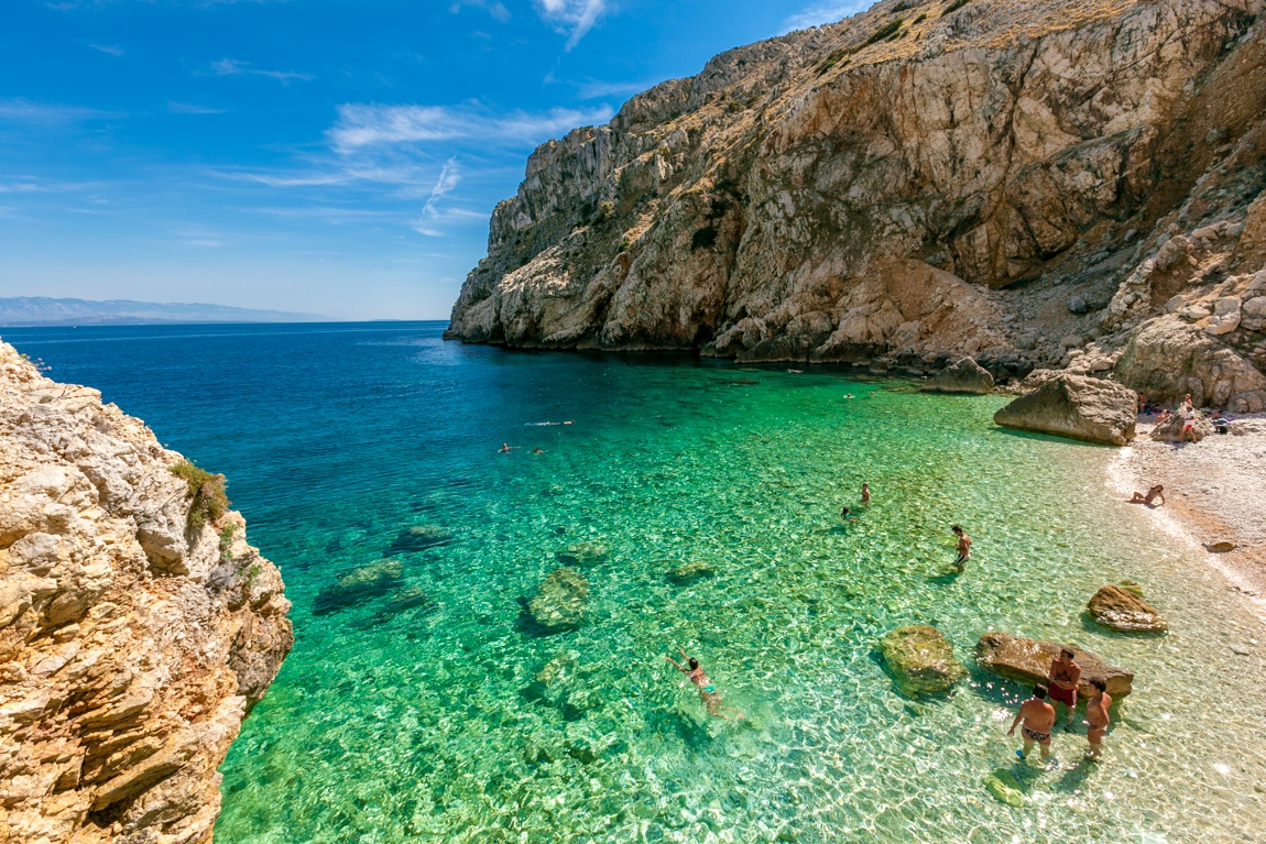 Mali Bok Beach Cres Croatia Travel Blog