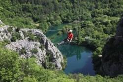 Zipline Croatia Omis | Travel Croatia Guide