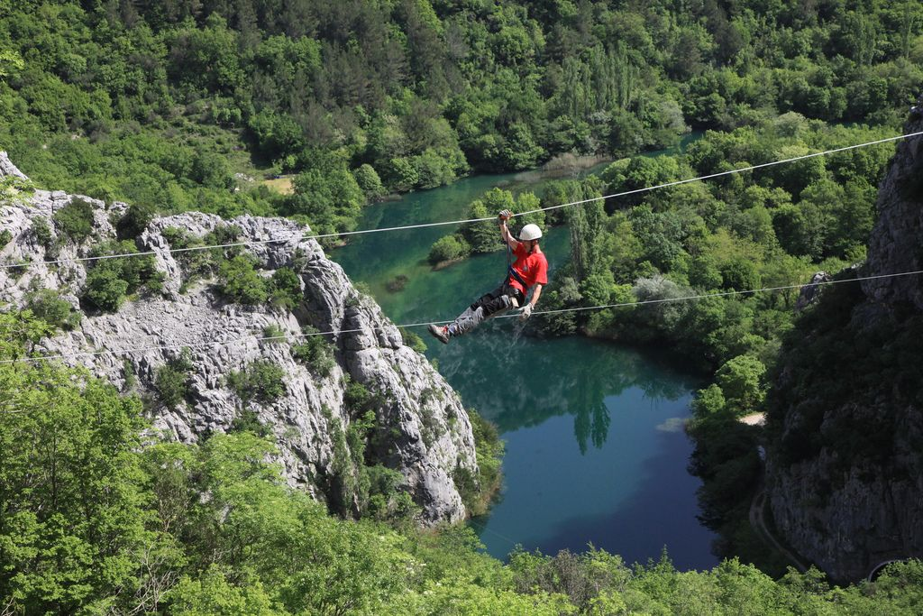 Omis Croatia  City new picture : Zipline Croatia Omis | Croatia Travel Blog