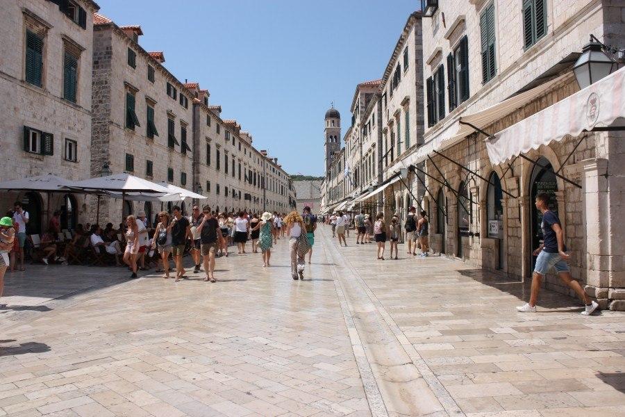 Stradun, (main street) Dubrovnik