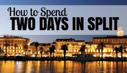 How to spend two days in split