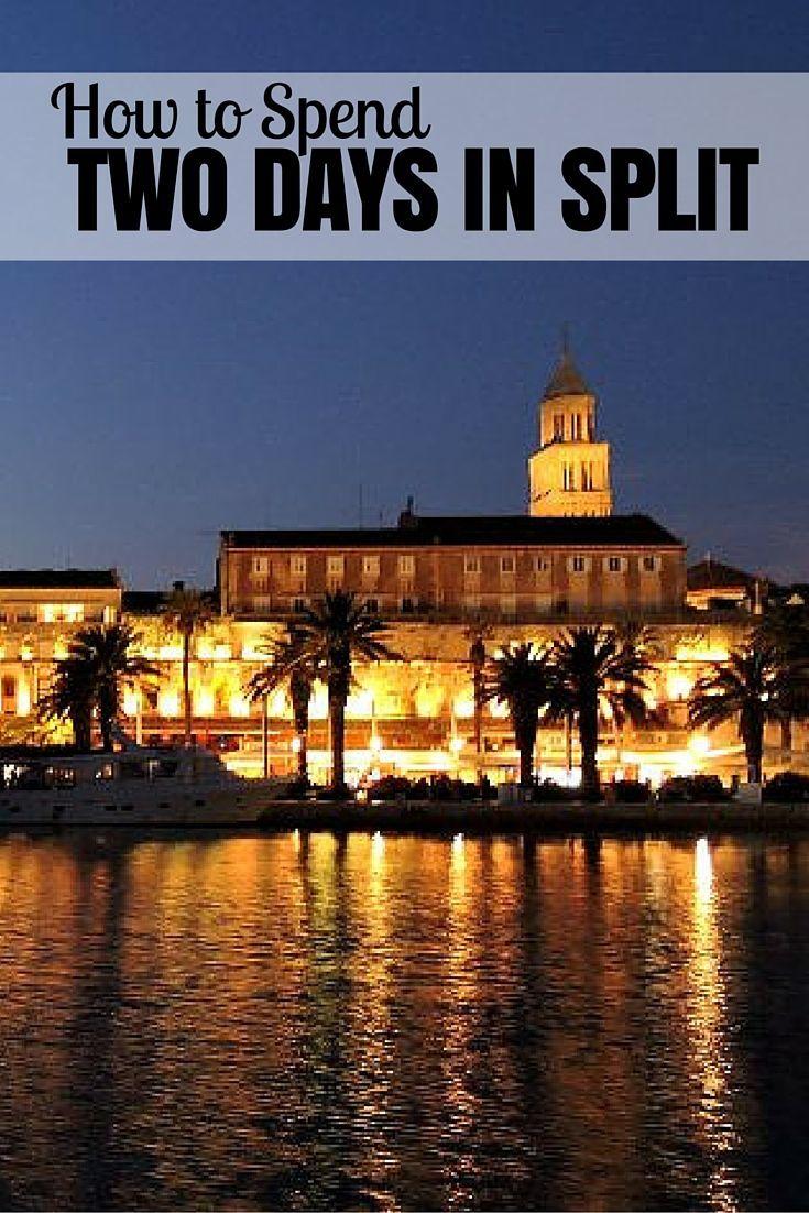 Things To Do In Croatia Split Pin Croatia Travel Blog