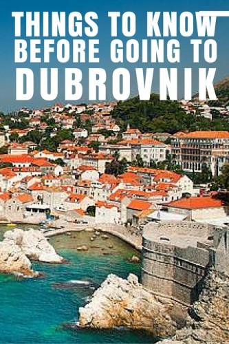 Travel to Dubrovnik Croatia