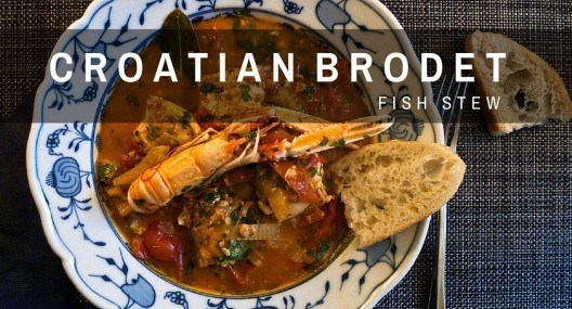 Croatian Cooking: Brodet Recipe {Fish Stew}