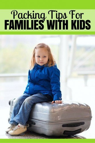Our Packing Tips For families With Kids PIN