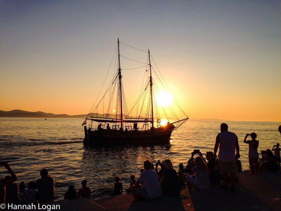 Visit Zadar - Sunset in Zadar | Travel Croatia Guide