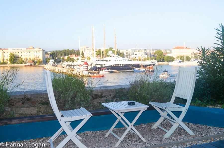 Visit Zadar - Secret Garden Bar | Travel Croatia Guide